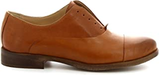 LEONARDO SHOES Luxury Fashion Womens 1914BROWN Brown Lace-Up Shoes | Spring Summer 19