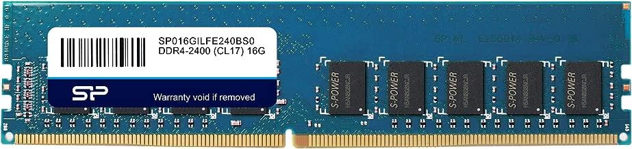 Silicon Power 16GB Original Hynix IC DDR4 2400MHz (PC4-19200) 288-pin CL17 1.2V 2Rx8 ECC UDIMM Server Memory RAM Module Upgrade (SP016GBLFE240B01)