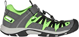 Charcoal/Lime