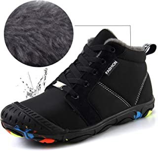 LINGTOM Kids Winter Snow Boots