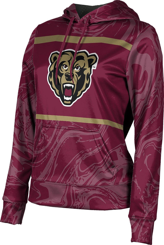 ProSphere Kutztown University Girls' Pullover Hoodie, School Spirit Sweatshirt (Ripple)