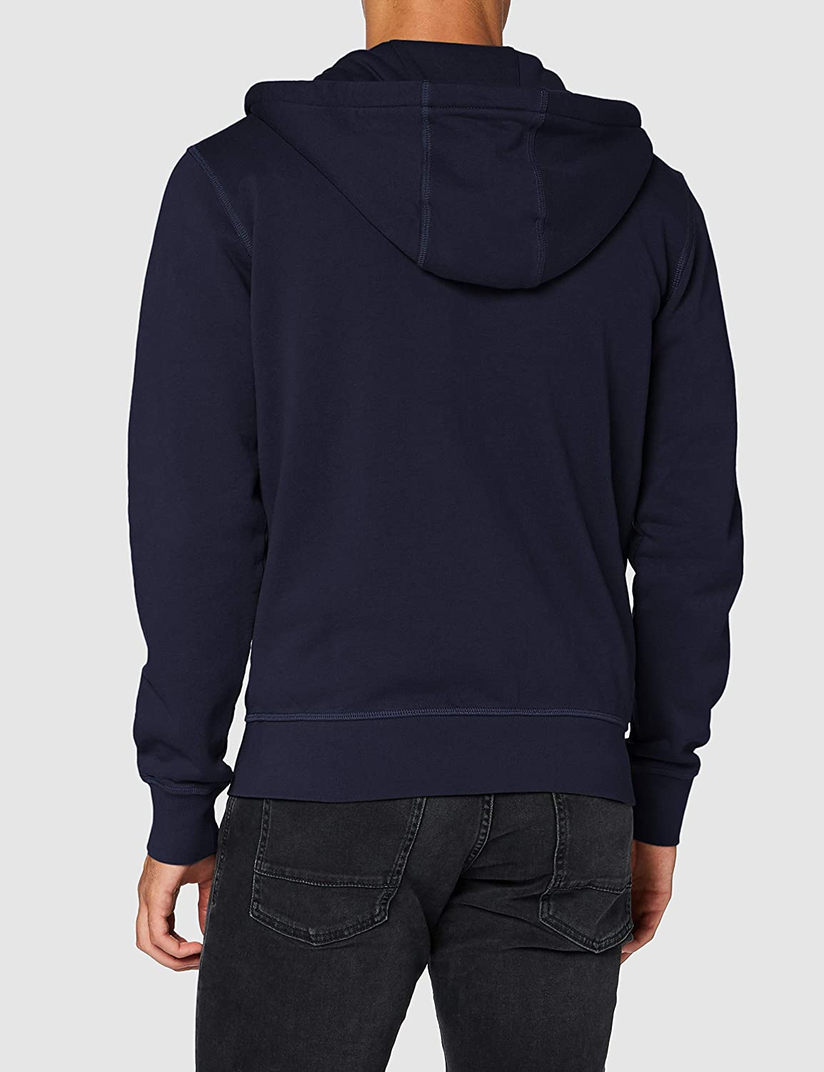 NORTH SAILS Hooded Full Zip W/Logo Sweatshirt à Capuche Homme Blue Navy