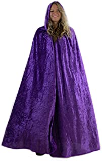 Everfan Hooded Cape for Adults | Men's Cloak with Hood for Halloween Cosplay Costume
