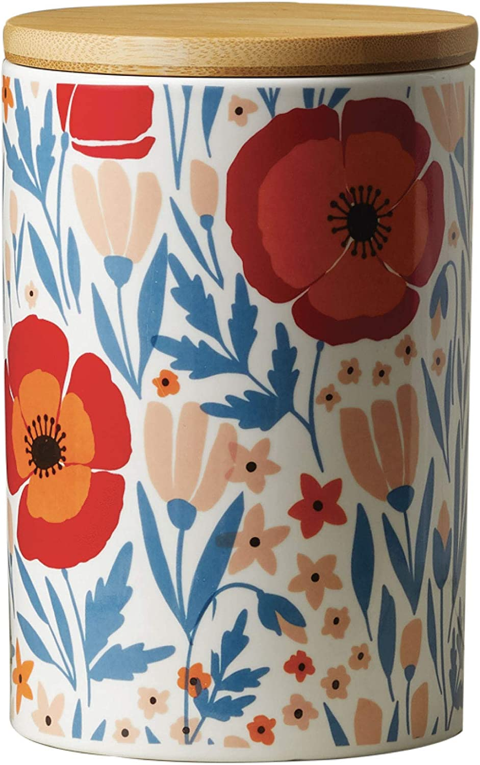 Latter-Day OFFicial shop Home Floral Kitchen shipfree - Kit Canister