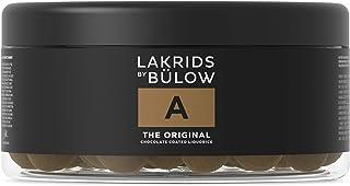 LAKRIDS BY BÜLOW - A - THE ORIGINAL - 550g - Dänische Gourmet Lakritz-Kugeln - Süßer Lakritzkern umhüllt von Vollmilch-Schokolade und feinem Lakritzpulver - Süßigkeiten Geschenk für Lakritze Liebhaber