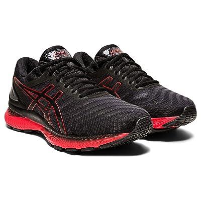 ASICS GEL-Nimbus(r) 22 (Black/Classic Red) Men