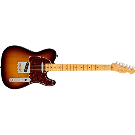 Fender American Professional II Telecaster Electric Guitar, Maple Fingerboard, 3-Color Sunburst