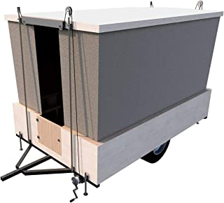Pop Up Tent Camper Trailer Building Plans DIY RV Caravan How To Build Your Own