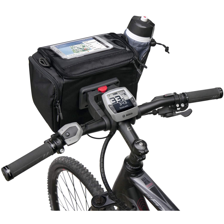 Klickfix - Adaptador para manillar para bolsas, cestas u otros ...