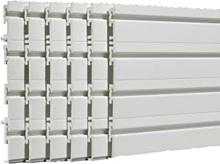 Flow Wall FWS-4812-6W-B Wall Panel Pack, White covers 24 sq ft