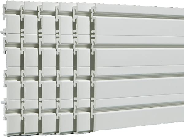 Flow Wall FWS 4812 6W B Wall Panel Pack White Covers 24 Sq Ft