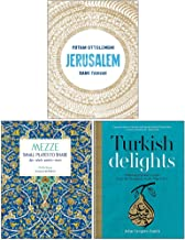 Jerusalem, Mezze Small Plates To Share, Turkish Delights 3 Books Collection Set