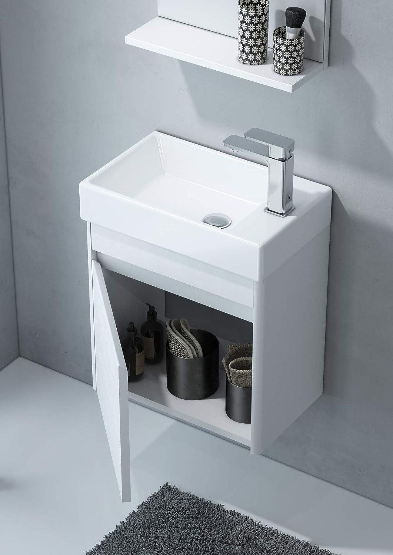 ORKA Duden Badmöbel Set, MDF, Weiß, 20 x 20 x 20 cm  Amazon.de ...