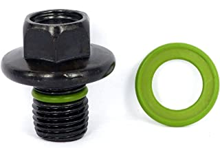 SMART-O F3 Oil Drain Plug M14x1.5mm - Engine Oil Pan Protection Plug with Anti-Leak & Anti-Vibration Function - Install Faster, Re-usable and Eco-Friendly