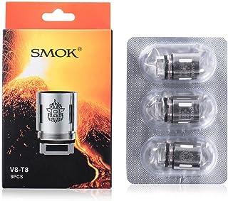 Smok V8-T8 Bobina Cabeza para TFV8 Nube Tanque De Bestia 0.15 Ohm Paquete de 3