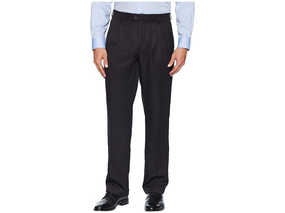 Perry Ellis Portfolio - Perry Ellis Portfolio Double Pleated Classic Fit Performance Dress Pants