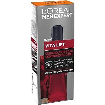 L'Oréal Paris Men Expert - Vitalift Contorno de ojos anti edad, 15 ml