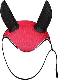 CatYou Horse Ear Net Mask Soft Breathable Meshed Ear Cover Hood Ear Protector Bonnet Equestrian