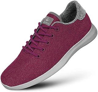 GIESSWEIN Merino Wool Knit Men – Sneakers da uomo traspiranti in lana Merino 3D elasticizzata, scarpe sportive per il temp...