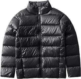 M2C Boys Girls Ultralight Packable Puffer Down Jacket Stand Collar Windbreaker
