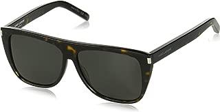 004 Havana Smoke SL1 Wayfarer Sunglasses Lens Category 3