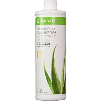 Amazon Com Herbalife Herbal Aloe Drink Concentrate 16 Oz New Mango Flavor Health Personal Care