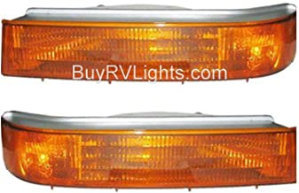 Fleetwood American Tradition 2004-2007 RV Motorhome Pair (Left & Right) Replacement Turn Signal Lights Front Lamps