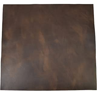 Leather Square (12 x 12 in.) for Crafts/Tooling/Hobby Workshop, Medium Weight (1.8mm) by Hide & Drink :: Bourbon Brown