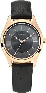 Titan Analog Gray womens Watch 2596WL04