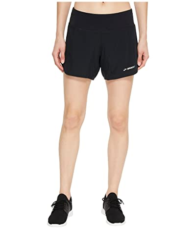 Brooks Chaser 5 Shorts (Black 1) Women