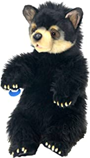 """BLACK BEAR CUB Cuddly 13.5""""H Seated"""