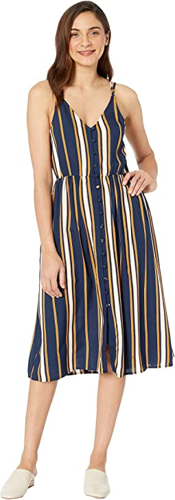 Dress Blue Macy Stripe