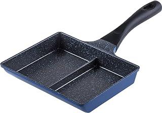 和平フレイズ 仕切付 フライパン 15×19cm IH対応 2品同時に調理 お弁当に便利 ひるもぐ RB-1296