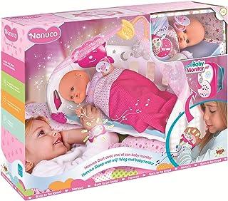 Nenuco Doll Cradle Sleep With Me Baby Monitor, 700014485