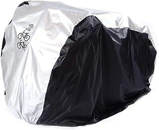 Zeroall Housse de V/élo Imperm/éable Couverture de Bicyclette Universel Housse de Pluie de V/élo /Étanche Housse de Protection pour V/élo Moto Scooter V/élomoteur
