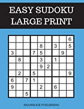 Easy Sudoku Puzzle Books Large Print