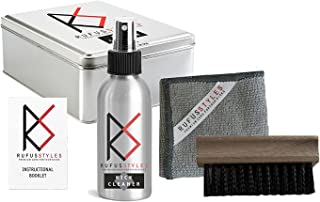 Rufus Styles Sneaker Cleaning Kit - Perfect as Suede Shoe Cleaner, Nubuck Protector, Leather, Canvas, Mesh, Knit