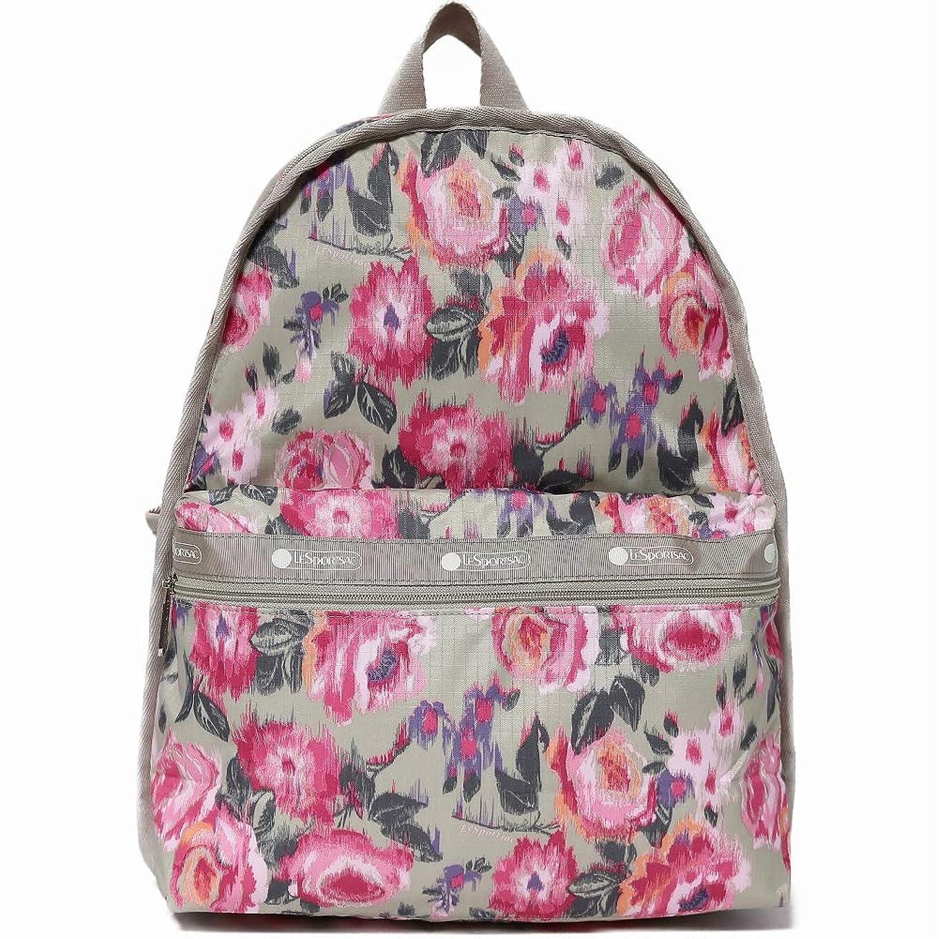 バクテリアクレタ他の場所LeSportsac レスポートサック リュックサック 7812 Basic Backpack E143 NIGHT BLOOMS [並行輸入品]