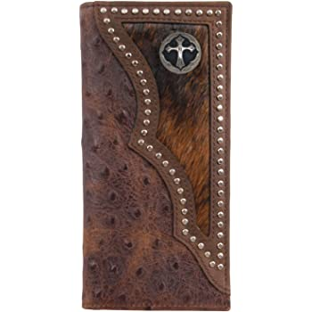 Custom 3D Belt Company Texas Rope and Cross Long Rodeo Long Checkbook Realtree AP Camo Wallet