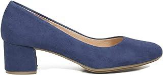 c51796a0944c49 miMaO Chaussures. Escarpins en Cuir Made in Spain. Confort. Escarpin à Bout  Rond