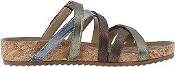 Metallic Multi Leather/Cork Wrap