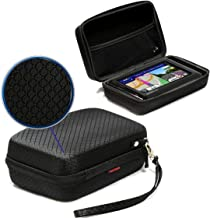 Navitech Black Hard Eva Nylon Protective Tough Carry Case Compatible with The Tomtom GO Camper 6