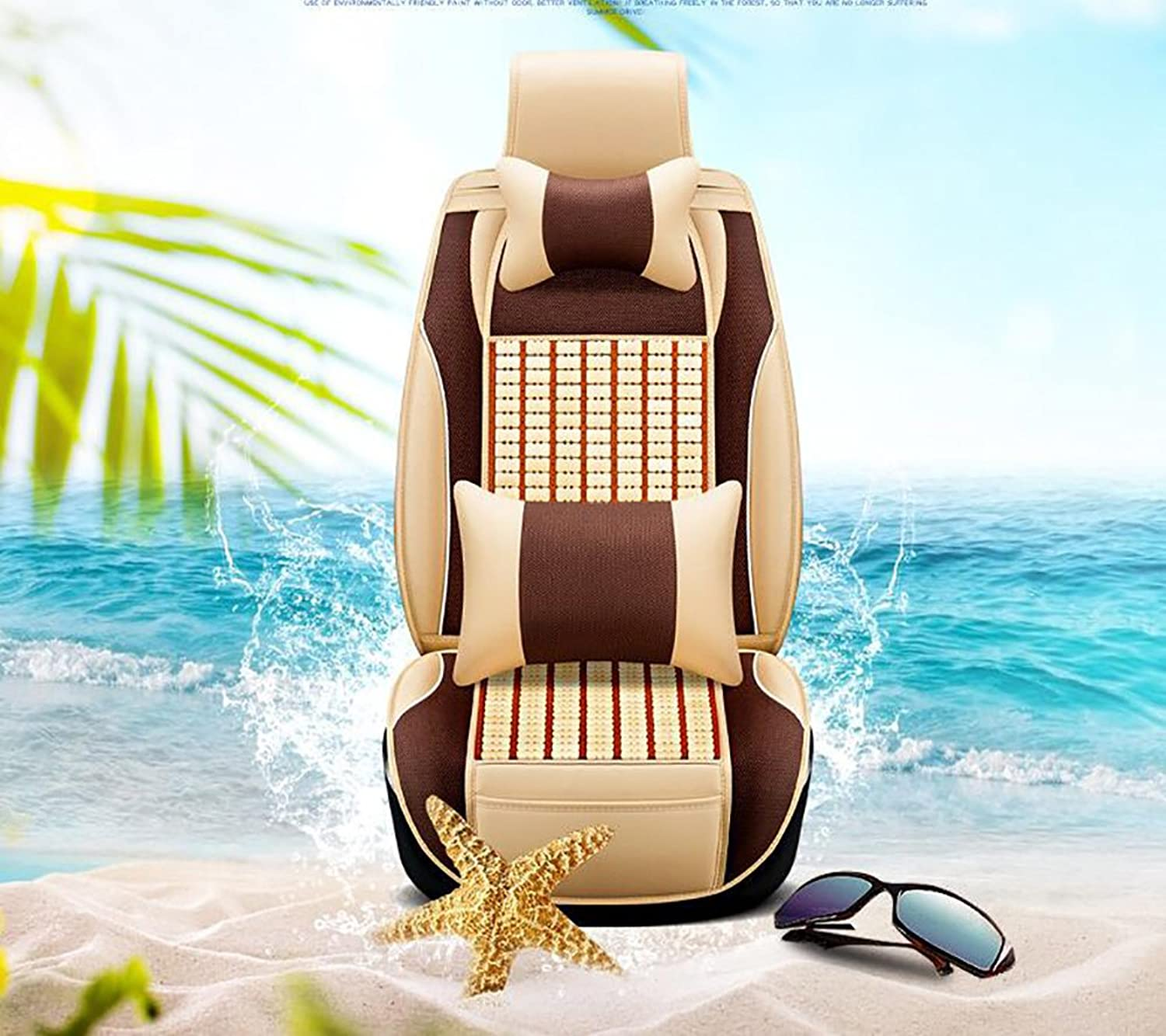 Of New Four Seasons General Wooden Bead Cushion Car Auto Supplies Seat Cover