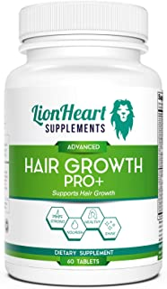 Hair Growth Pro Formula Supplement for Fast Growth, Longer, Stronger, Healthier Hair Vitamin for Both Women and Men - formulated for All Hair Types containing Biotin, Green Tea Leaf and DHT Blocker