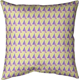 Kess InHouse Geordanna Fields Happiness is Like A Butterfly Blue Teal Abstract 30 x 20 Pillow Sham