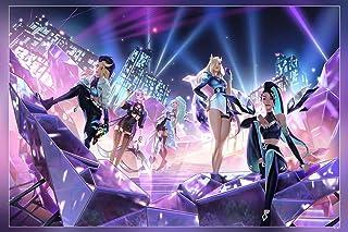 HSA League Of Legends Kda Riot Games Ahri Ahri League Of Legends 1 Poster Matte Finish Paper Print 12 x18 Inch (Multicolo...