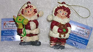 Raggedy Ann and Andy Christmas Ornaments