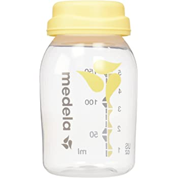 Medela Breast Milk Collection and Storage Bottles, 6 Pack, 5 Ounce Breastmilk Container, Compatible with Medela Breast Pumps and Made Without BPA