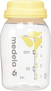 Medela Breast Milk Collection and Storage Bottles, 6 Pack, 5 Ounce Breastmilk Container, Compatible with Medela Breast Pum...