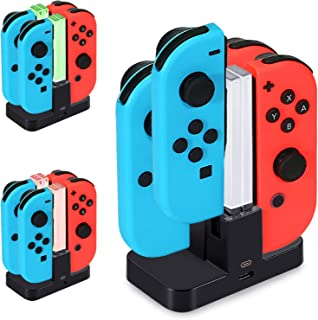 Joycon Charging Dock, [New Version] Diyife Switch Controller Charger, Switch Charging Dock, Controller Charger for Nintend...